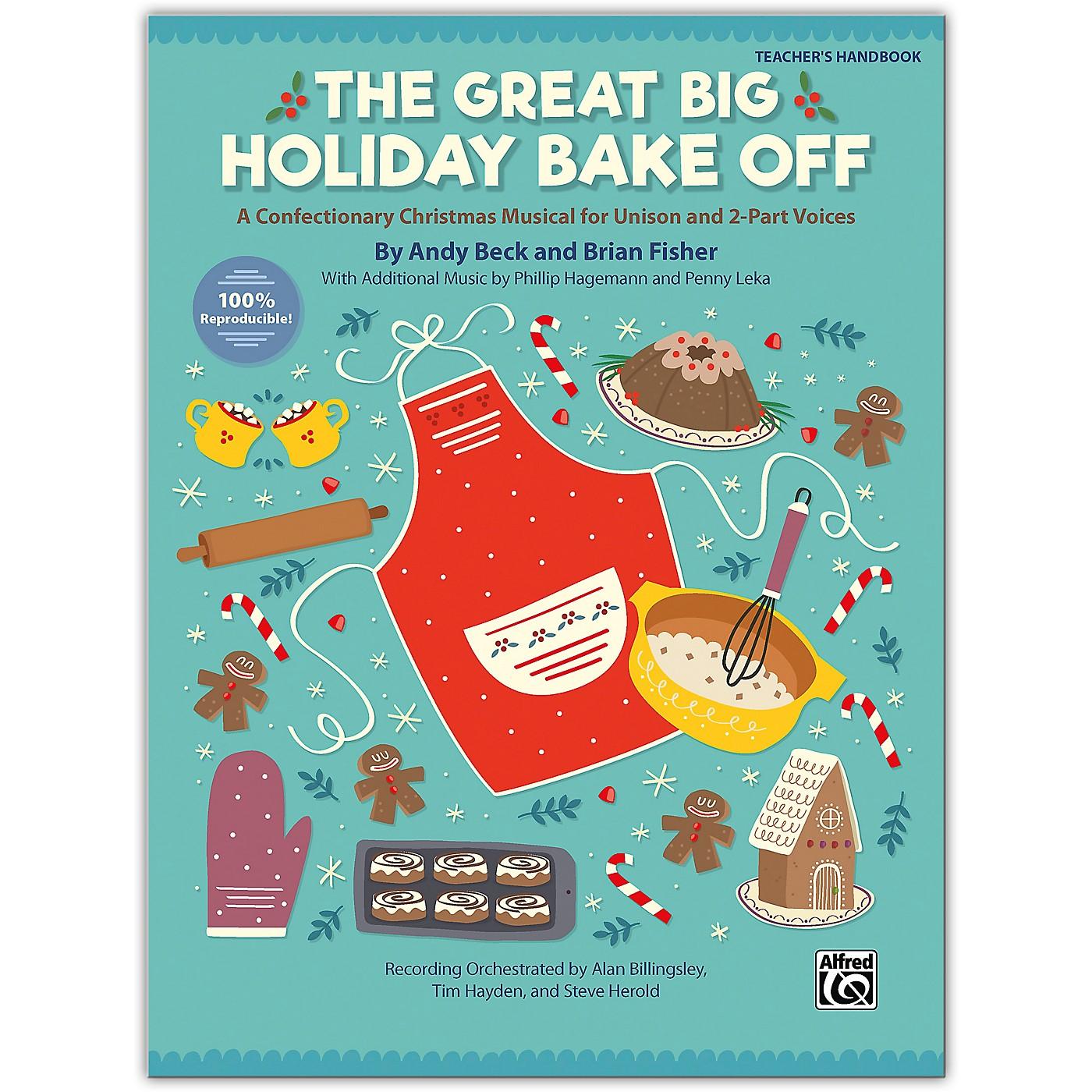 Alfred The Great Big Holiday Bake Off Teacher's Handbook Grade 3 & up thumbnail
