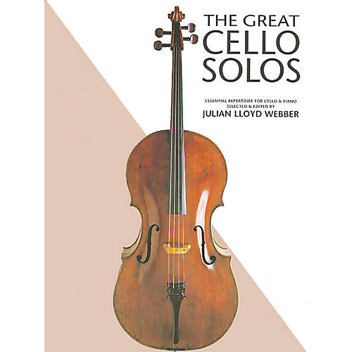 Chester Music The Great Cello Solos Music Sales America Series Softcover thumbnail