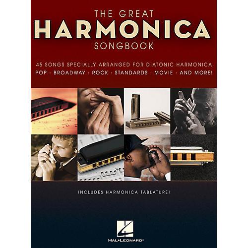 Hal Leonard The Great Harmonica Songbook Harmonica Series Softcover thumbnail