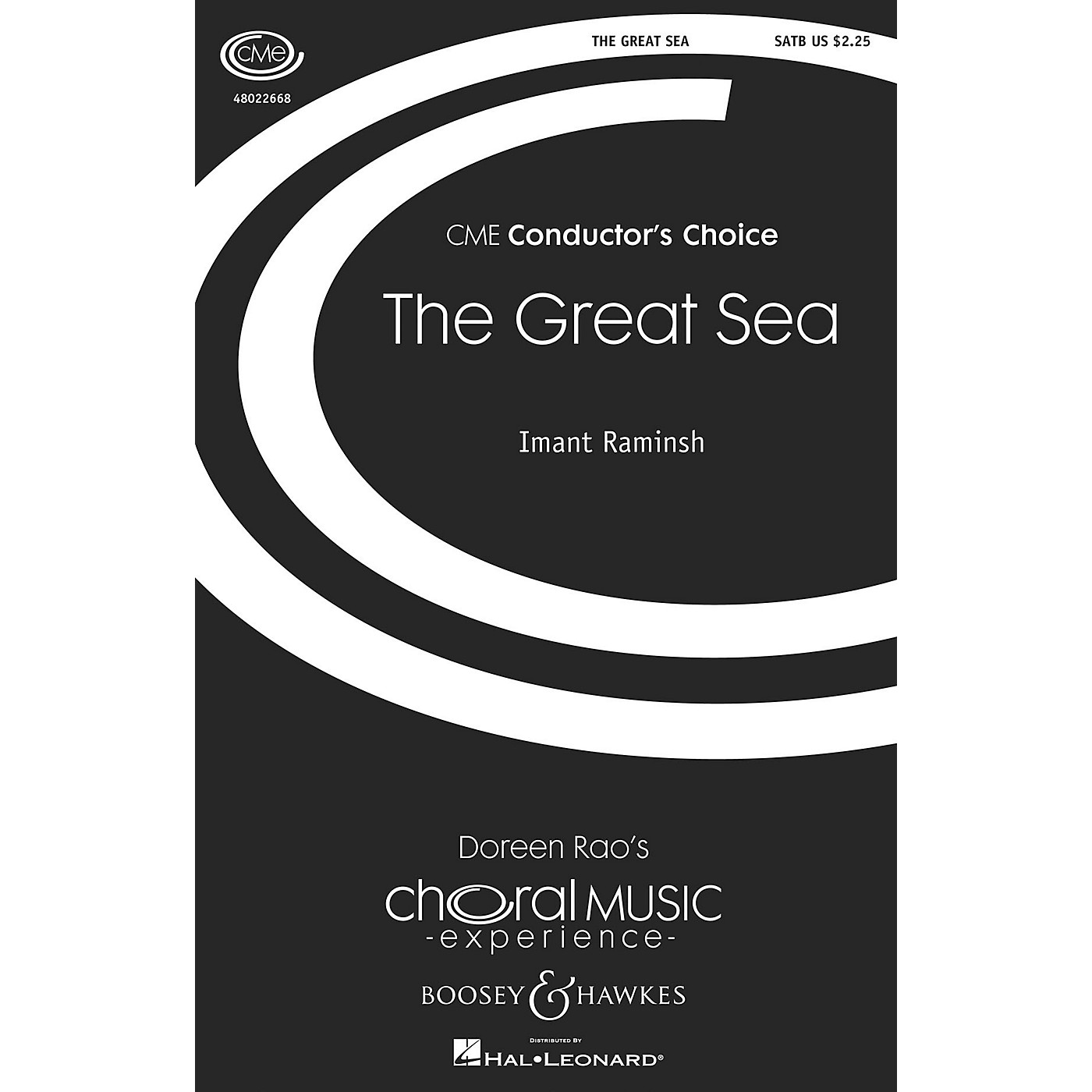 Boosey and Hawkes The Great Sea (CME Conductor's Choice) SATB composed by Imant Raminsh thumbnail