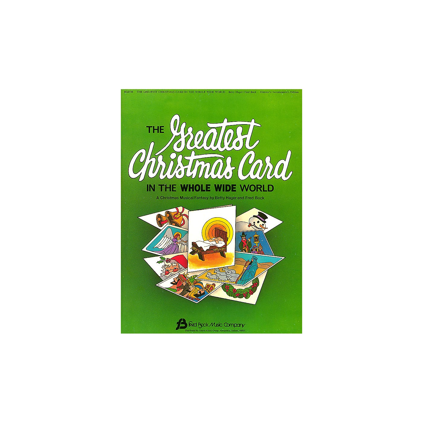 Fred Bock Music The Greatest Christmas Card DIRECTOR MAN composed by Fred Bock thumbnail