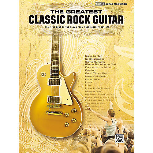 Alfred The Greatest Classic Rock Guitar Book thumbnail