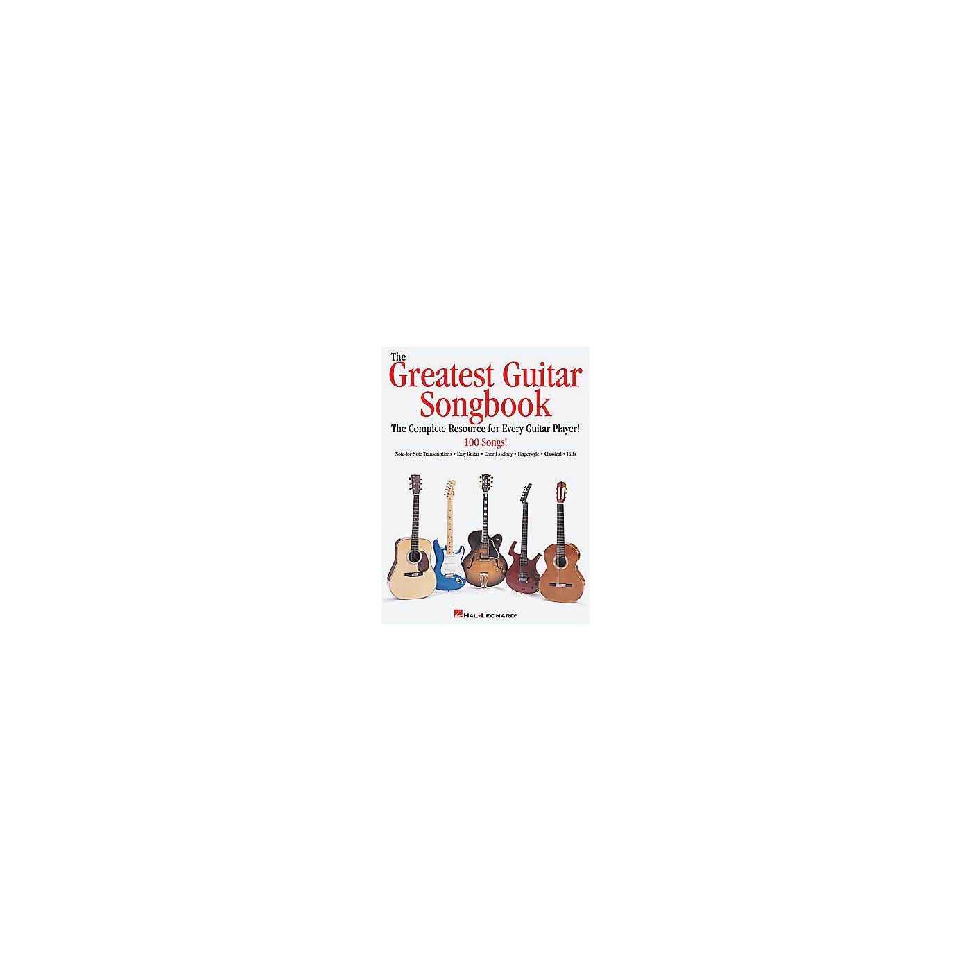 Hal Leonard The Greatest Guitar Tab Book thumbnail