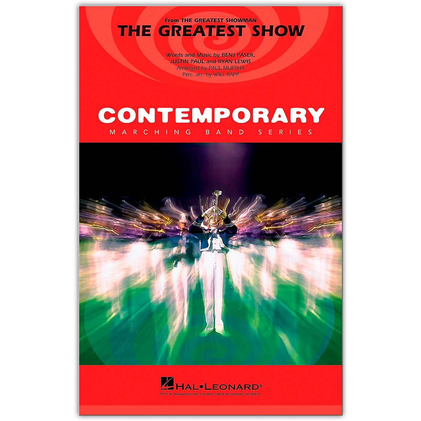 Hal Leonard The Greatest Show (from The Greatest Showman) Marching Band Level 3-4 arranged by Paul Murtha thumbnail