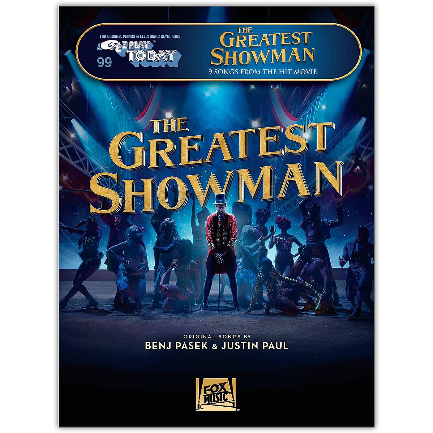 Hal Leonard The Greatest Showman - E-Z Play Today #99 thumbnail