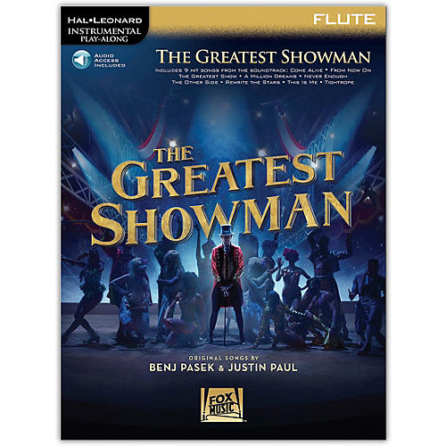 Hal Leonard The Greatest Showman Instrumental Play-Along Series for Flute Book/Online Audio thumbnail