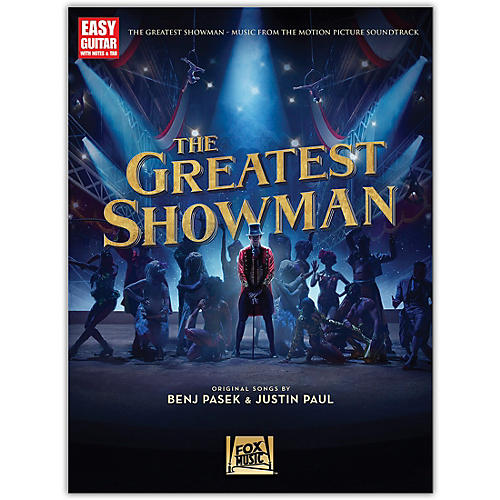 Hal Leonard The Greatest Showman (Music from the Motion Picture Soundtrack) for Easy Guitar Tab thumbnail