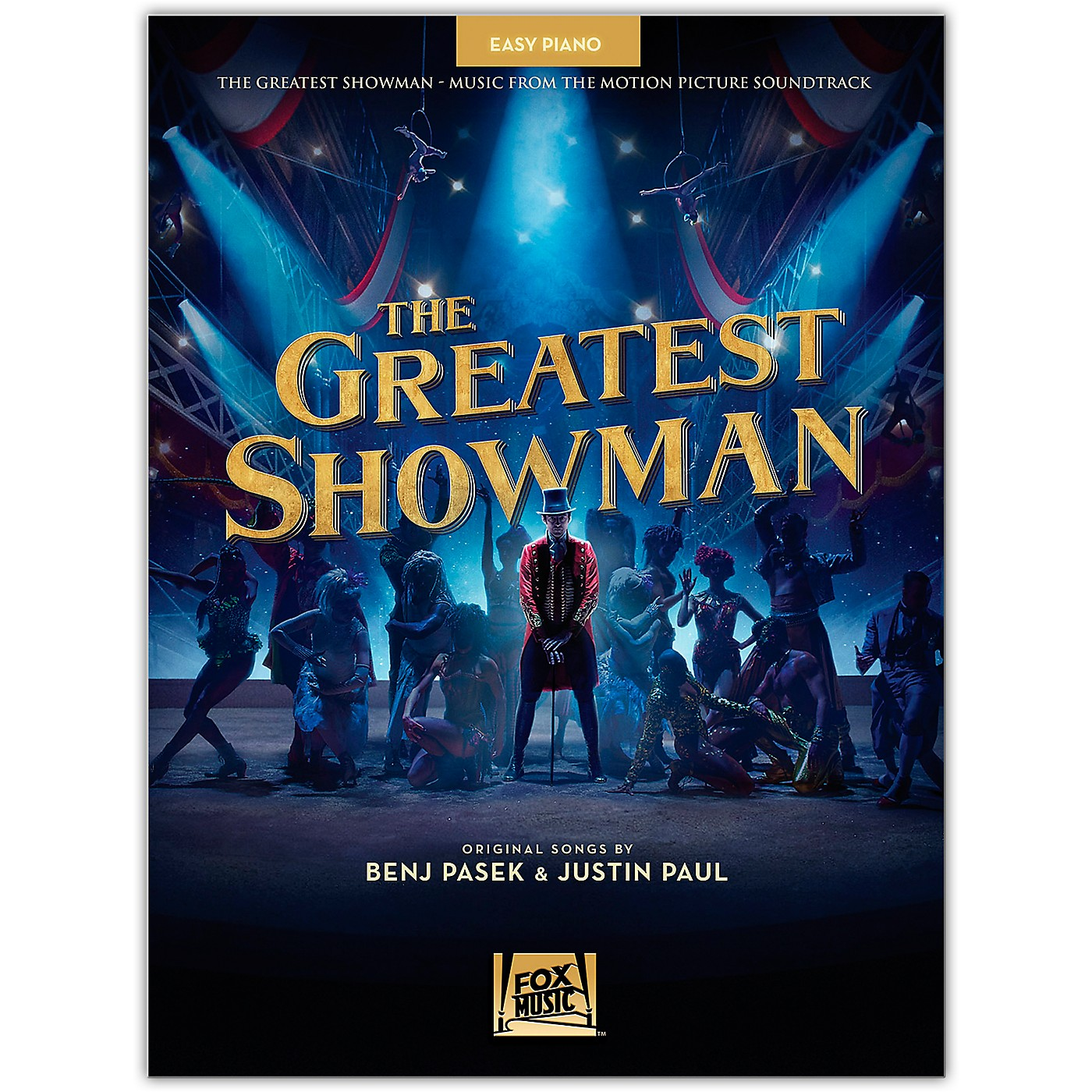 Hal Leonard The Greatest Showman Music from the Motion Picture Soundtrack for Easy Piano thumbnail