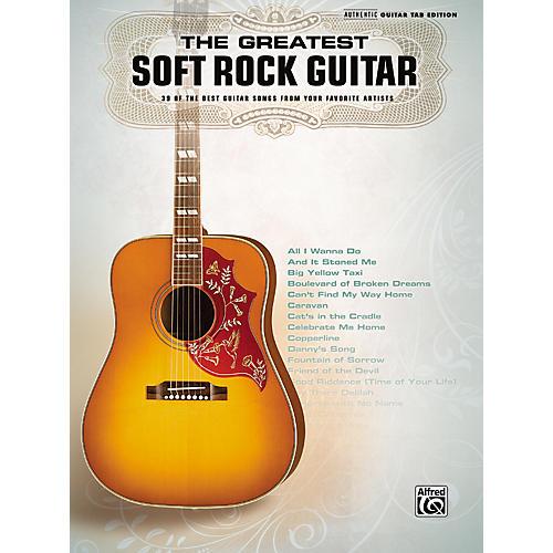 Hal Leonard The Greatest Soft Rock Guitar Tab Songbook-thumbnail