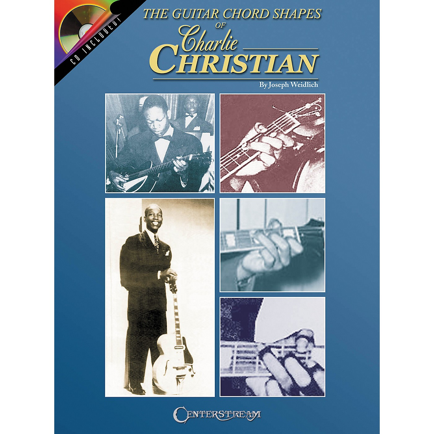 Centerstream Publishing The Guitar Chord Shapes of Charlie Christian (Book/CD) thumbnail