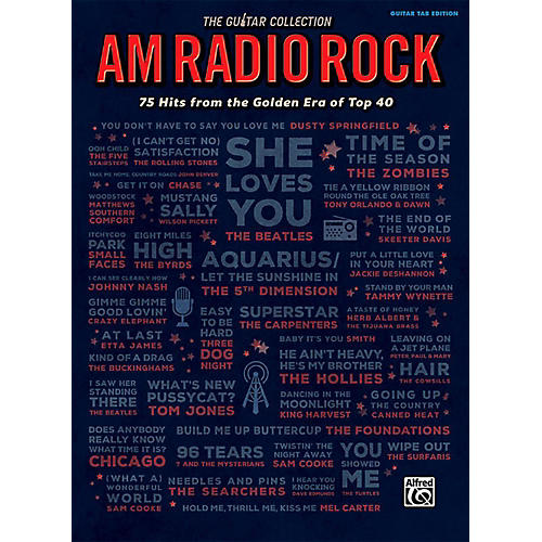 Alfred The Guitar Collection: AM Radio Rock - Guitar TAB Edition Songbook thumbnail