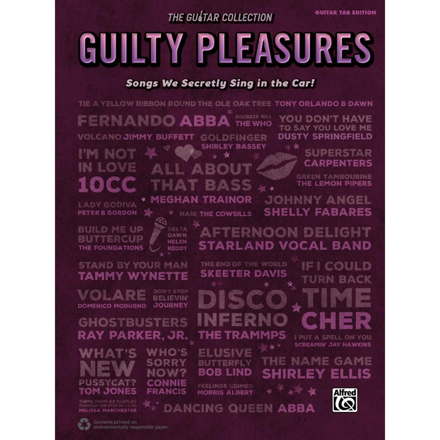 Alfred The Guitar Collection: Guilty Pleasures Guitar TAB Edition thumbnail