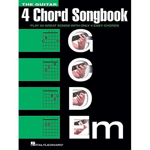 The Guitar Four Chord Songbook (4 Chord) G-C-D-Em - WWBW