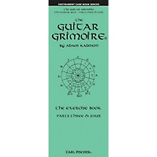 Carl Fischer The Guitar Grimoire The Exercise Book Parts Three & Four Pocket Book