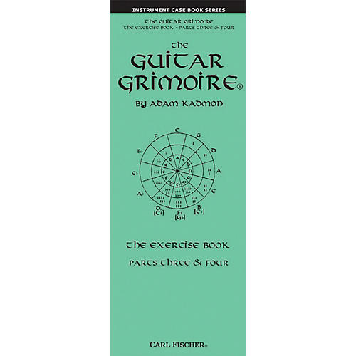 Carl Fischer The Guitar Grimoire The Exercise Book Parts Three & Four Pocket Book thumbnail