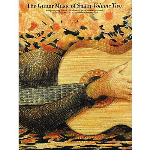 Music Sales The Guitar Music of Spain - Volume 2 Music Sales America Series Softcover thumbnail