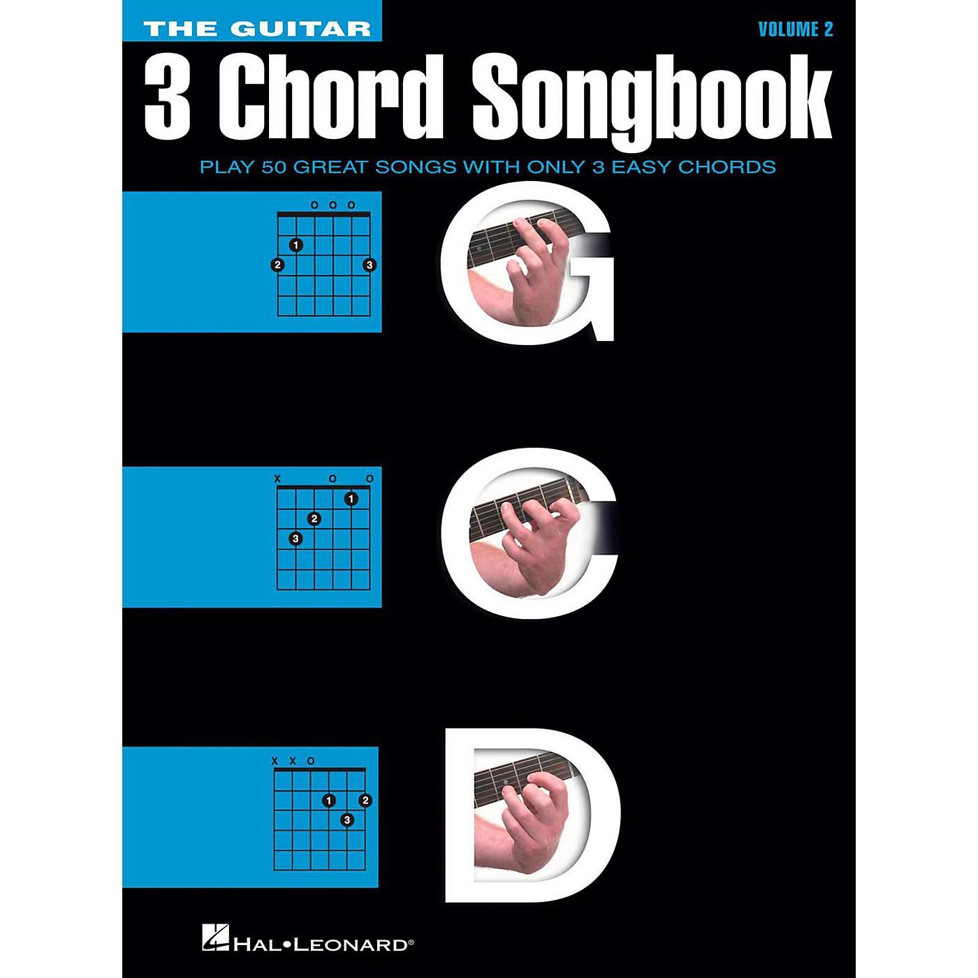 Hal Leonard The Guitar Three Chord Songbook Volume 2  G-C-D thumbnail