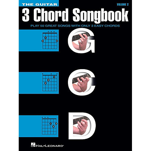 Hal Leonard The Guitar Three Chord Songbook Volume 2  G-C-D thumbnail