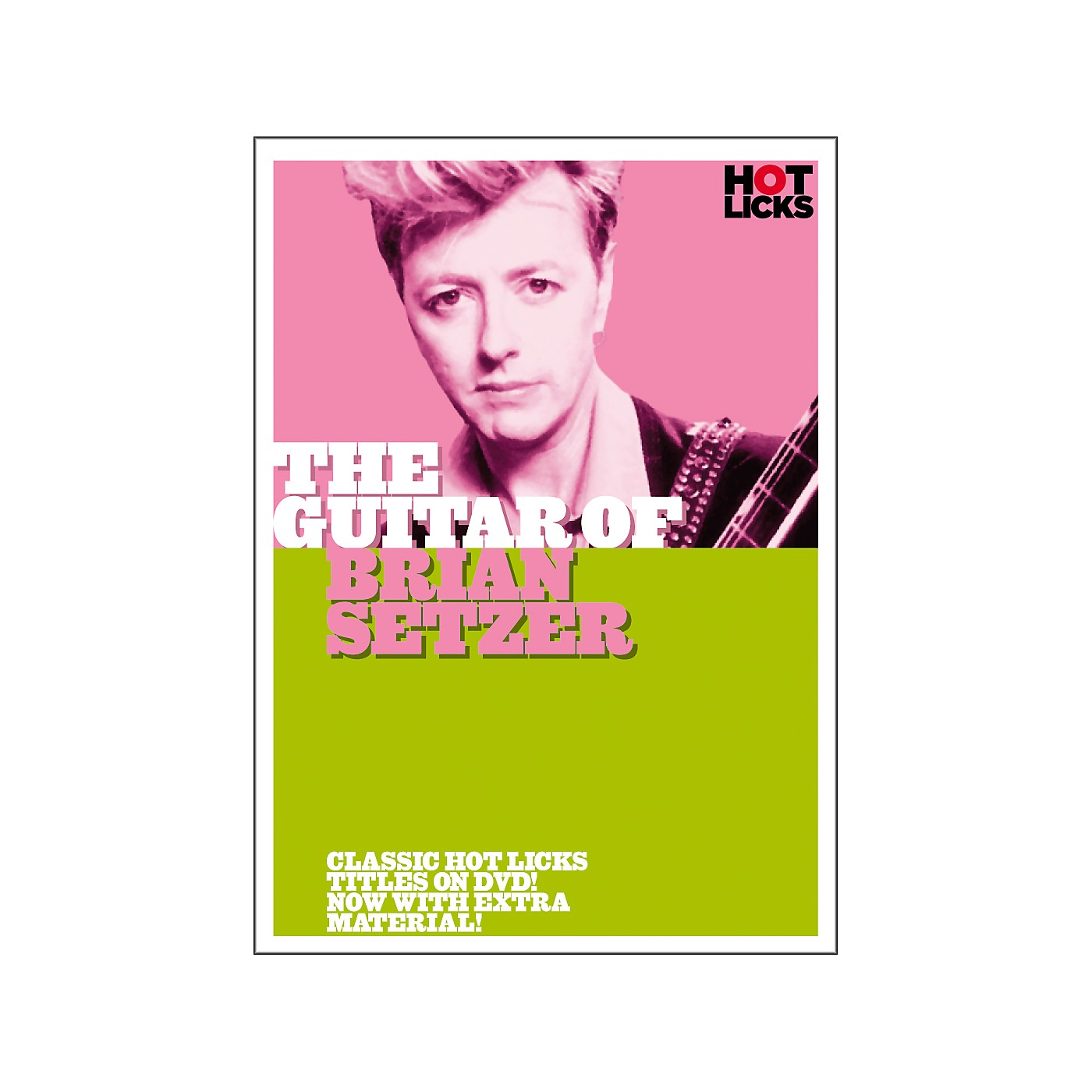 Hot Licks The Guitar of Brian Setzer (DVD) thumbnail