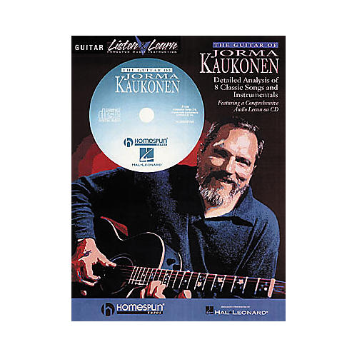 Homespun The Guitar of Jorma Kaukonen (Book/CD) thumbnail