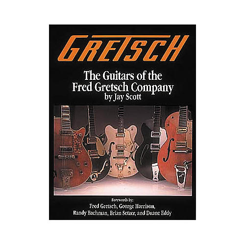 Centerstream Publishing The Guitars of the Fred Gretsch Co. Book-thumbnail