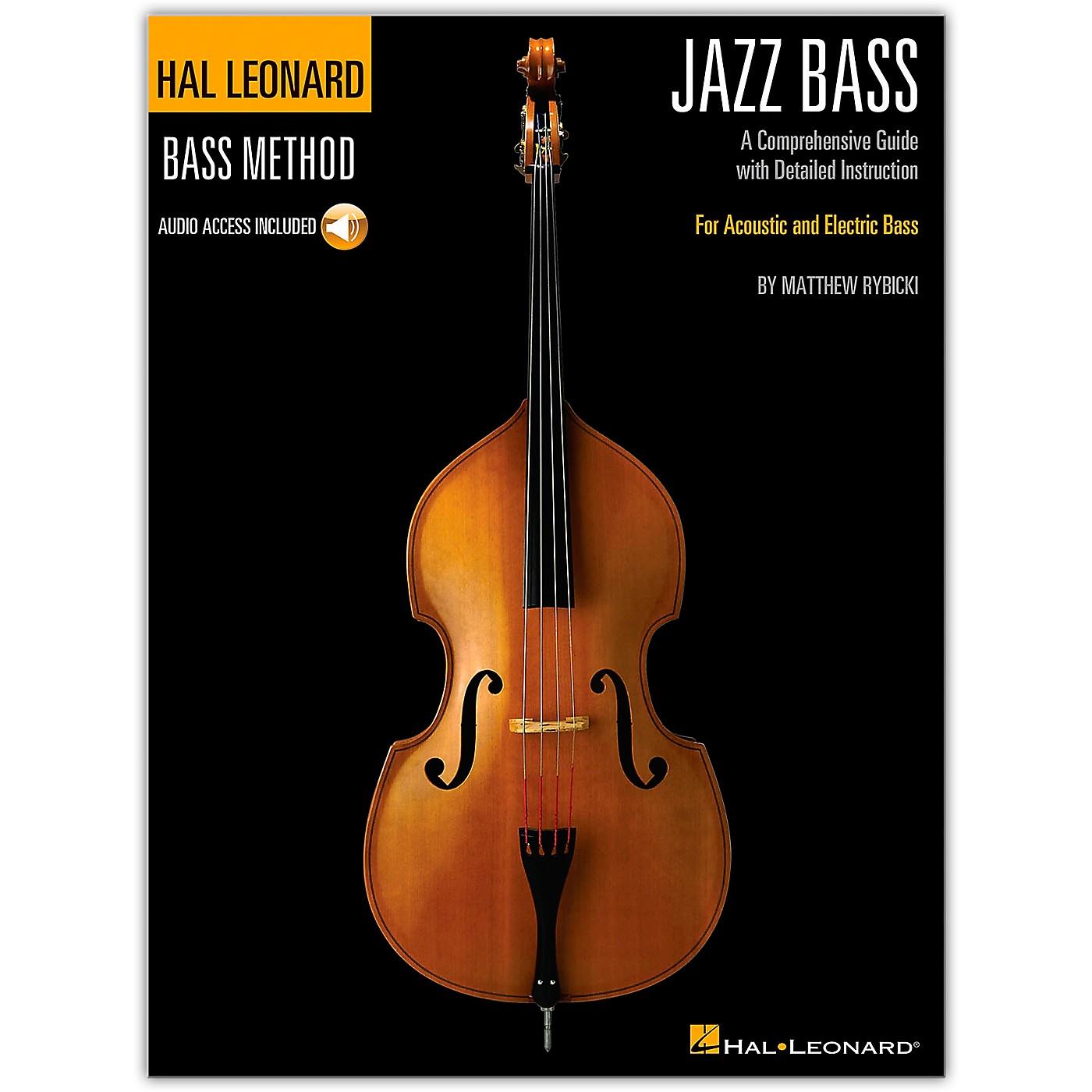 Hal Leonard The Hal Leonard Jazz Bass Method Book/ Audio Online thumbnail