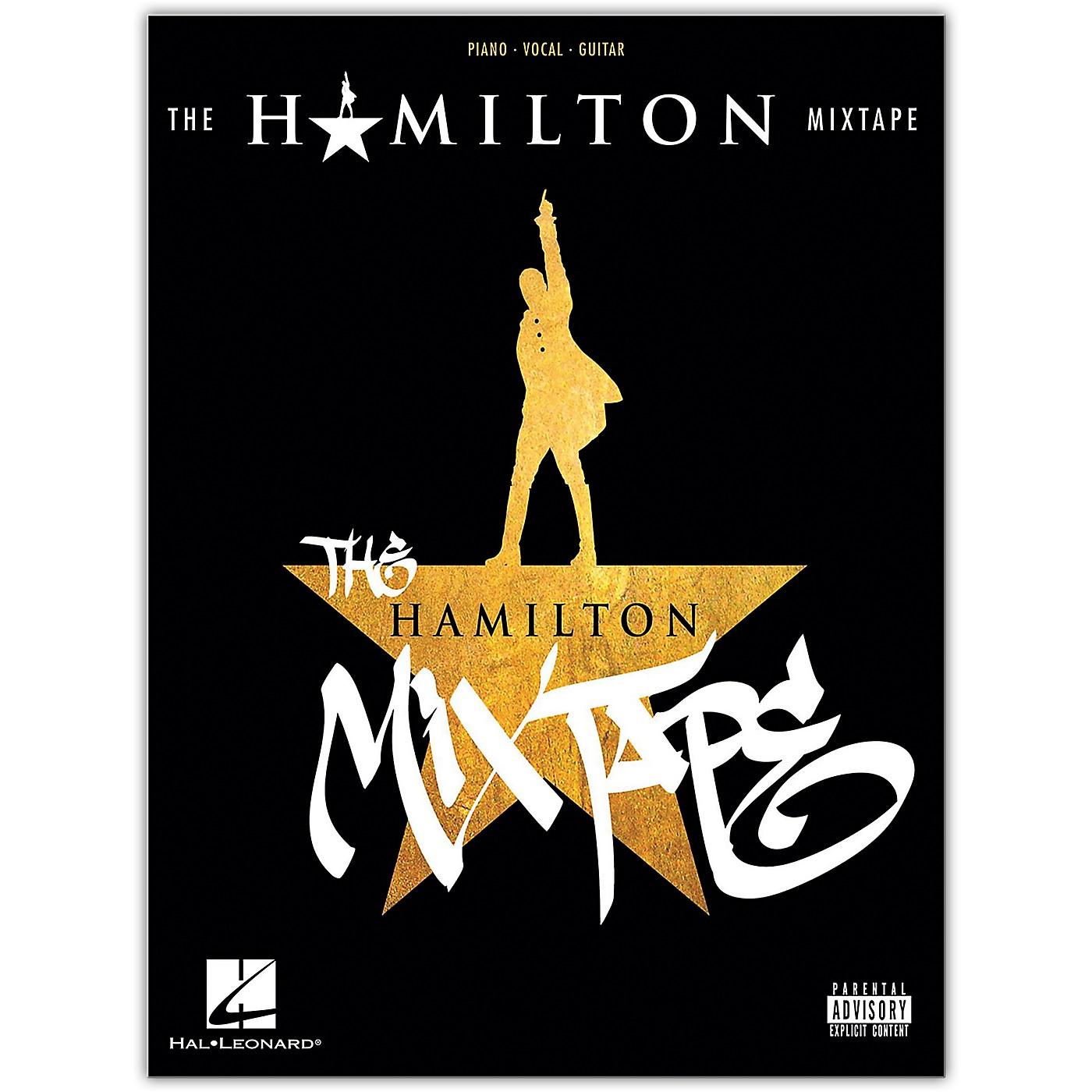 Hal Leonard The Hamilton Mixtape Piano/Vocal/Guitar Songbook thumbnail