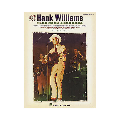 Hal Leonard The Hank Williams Guitar Tab Book thumbnail