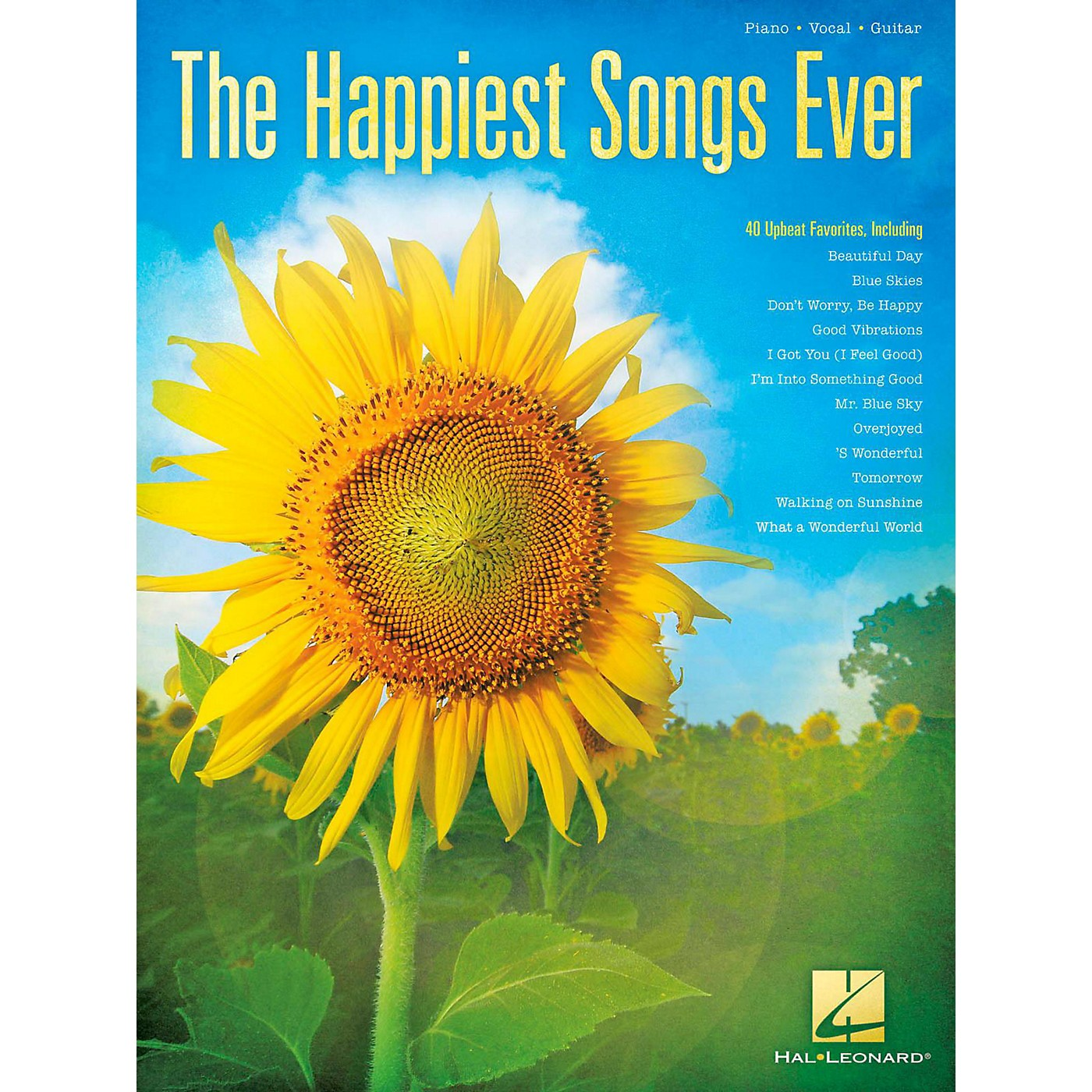 Hal Leonard The Happiest Songs Ever Piano/Vocal/Guitar thumbnail