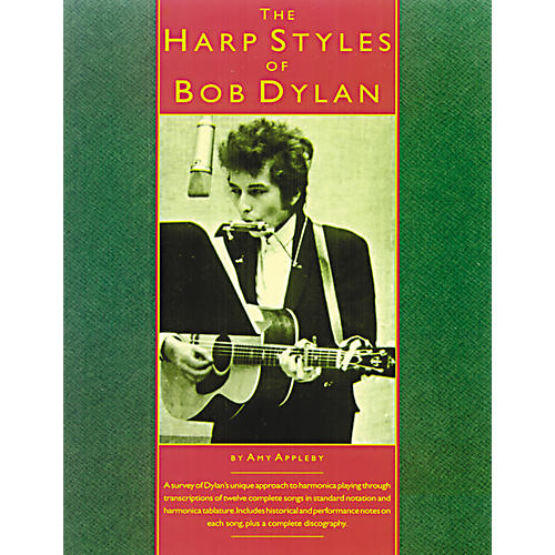 Music Sales The Harp Styles of Bob Dylan (Book) thumbnail