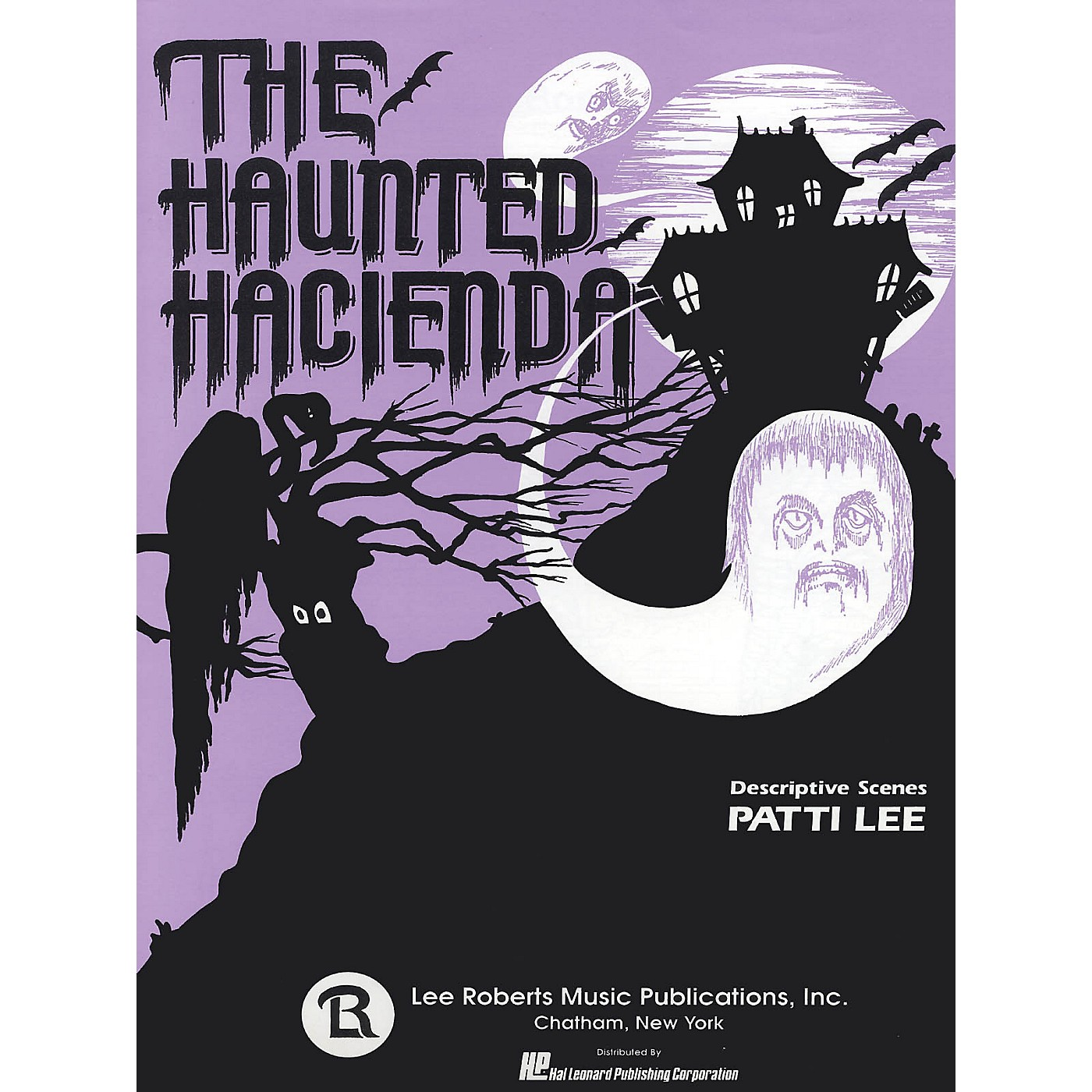 Lee Roberts The Haunted Hacienda (5 Short Pieces) Pace Piano Education Series Composed by Patti Lee thumbnail