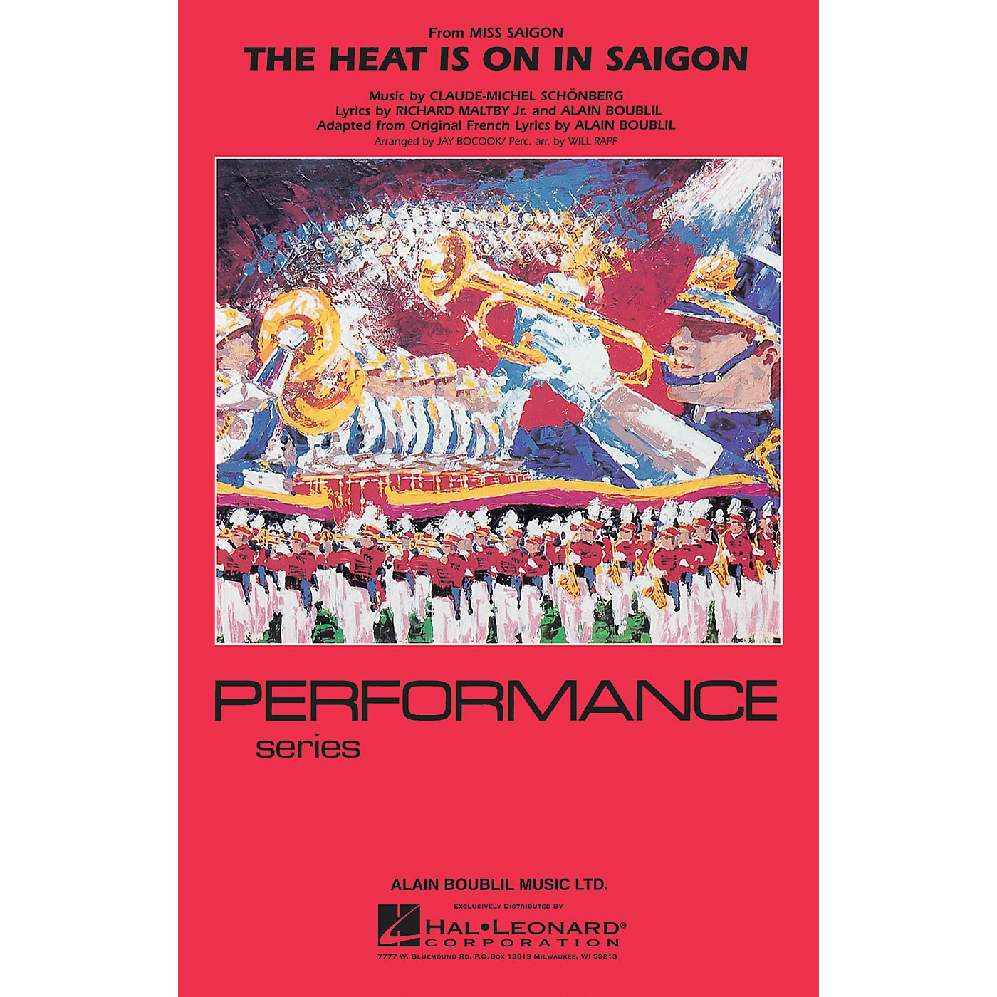 Hal Leonard The Heat Is On in Saigon Marching Band Level 4 Arranged by Jay Bocook thumbnail