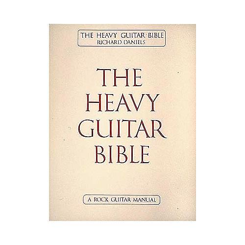 Cherry Lane The Heavy Guitar Bible Book-thumbnail