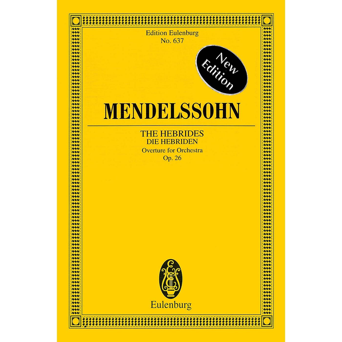Eulenburg The Hebrides, Op. 26 Schott Series Softcover Composed by Felix Mendelssohn thumbnail