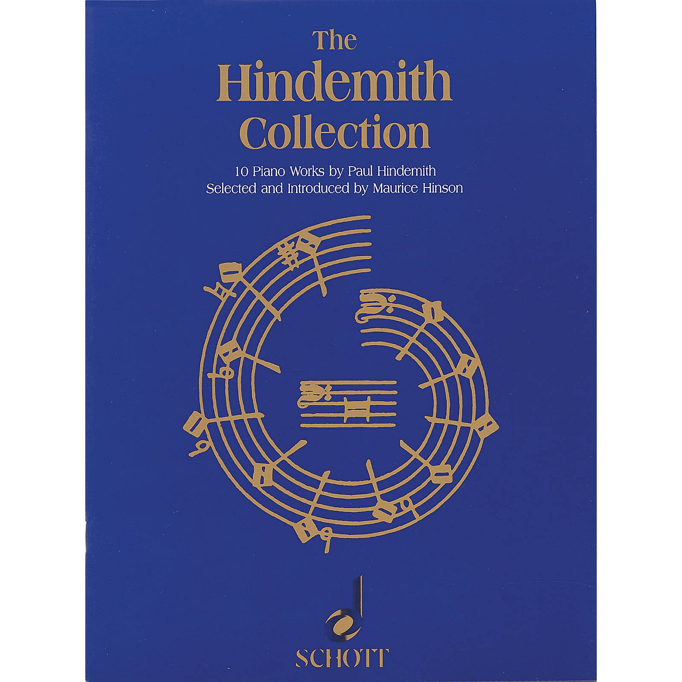 Schott The Hindemith Collection (10 Piano Works by Paul Hindemith) Schott Series Softcover thumbnail