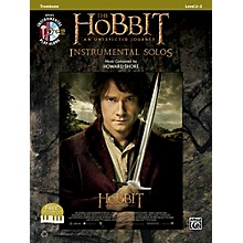 Alfred The Hobbit: An Unexpected Journey Instrumental Solos Trombone (Book/CD)