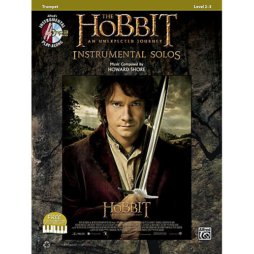 Alfred The Hobbit: An Unexpected Journey Instrumental Solos Trumpet (Book/CD)-thumbnail