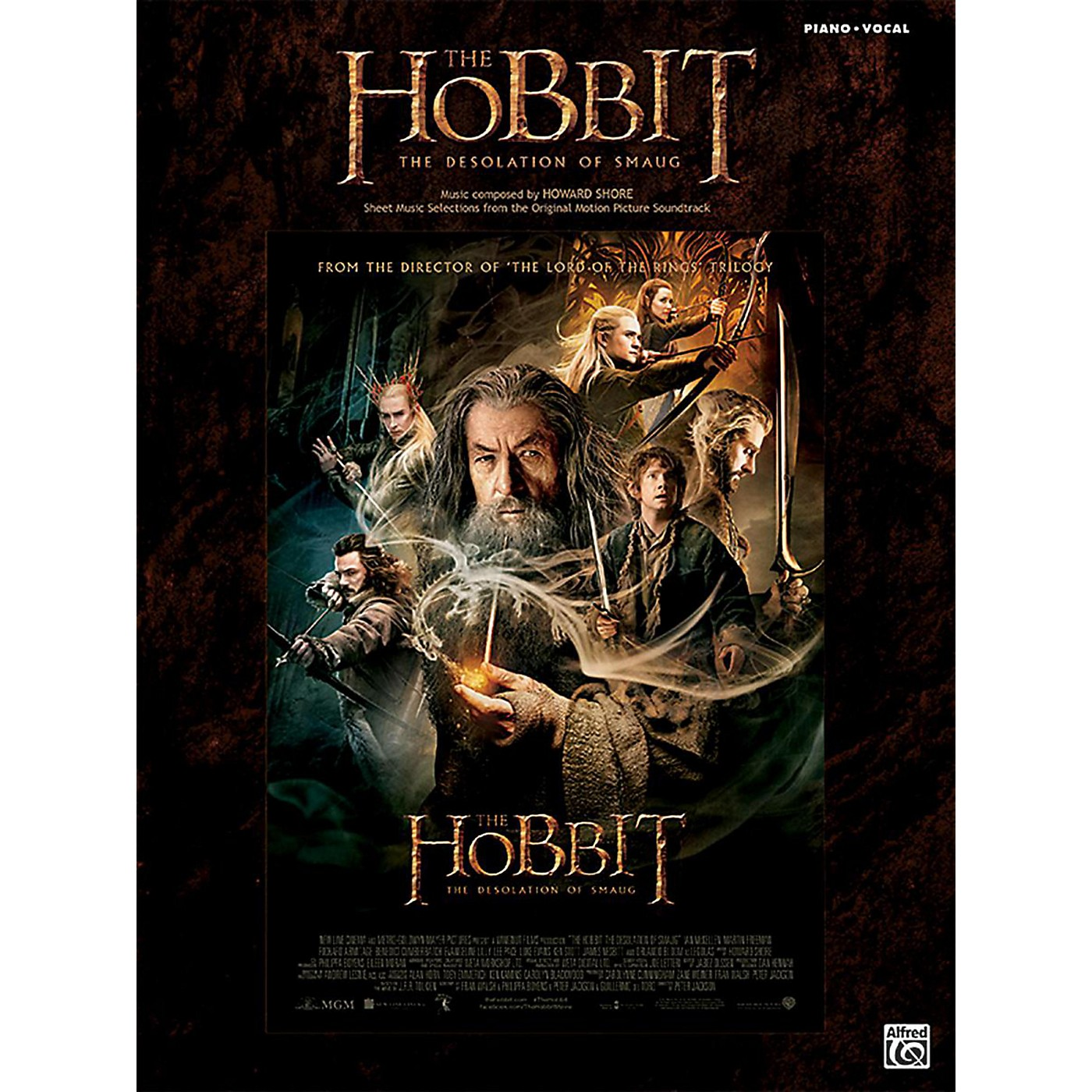 Alfred The Hobbit The Desolation of Smaug Piano/Vocal Book thumbnail