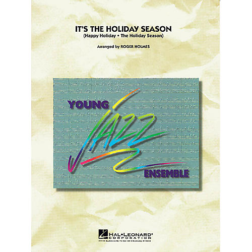 Hal Leonard The Holiday Season Jazz Band Level 3 Arranged by Roger Holmes thumbnail