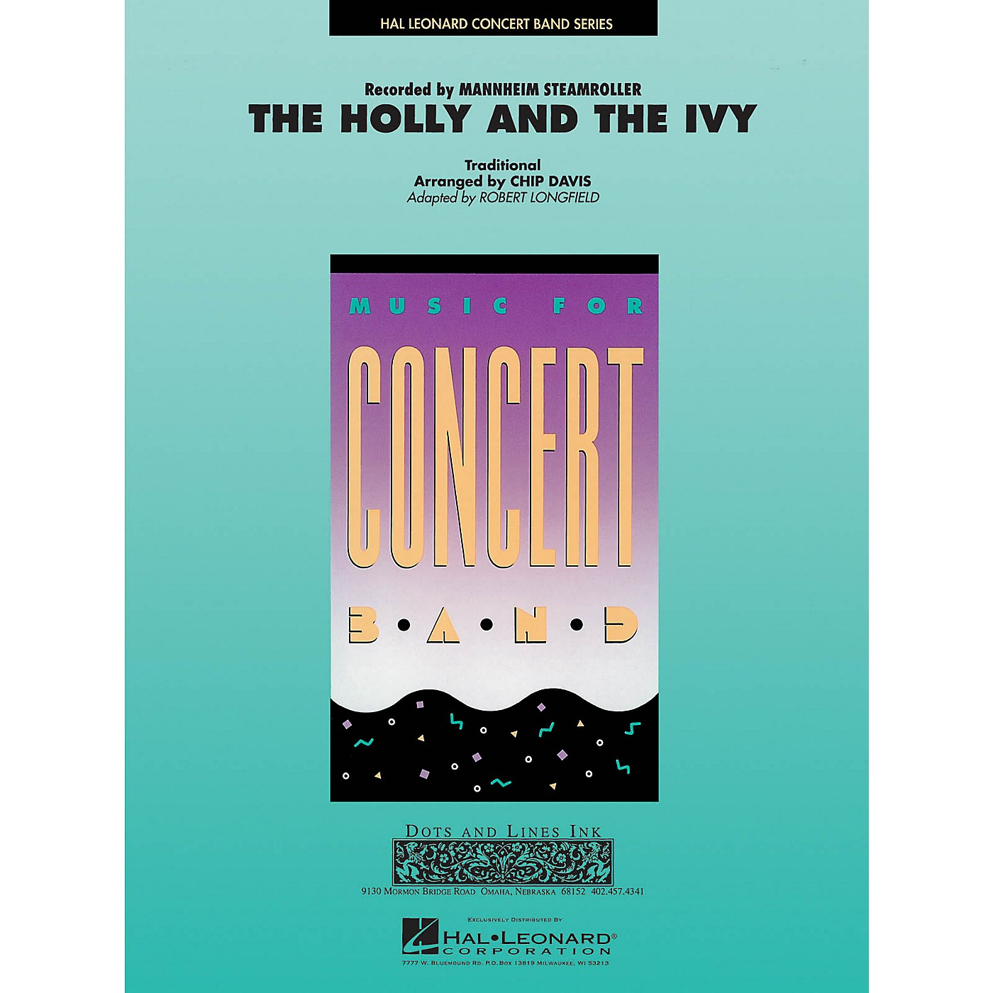 Hal Leonard The Holly and the Ivy Concert Band Level 3-4 by Mannheim Steamroller Arranged by Robert Longfield thumbnail