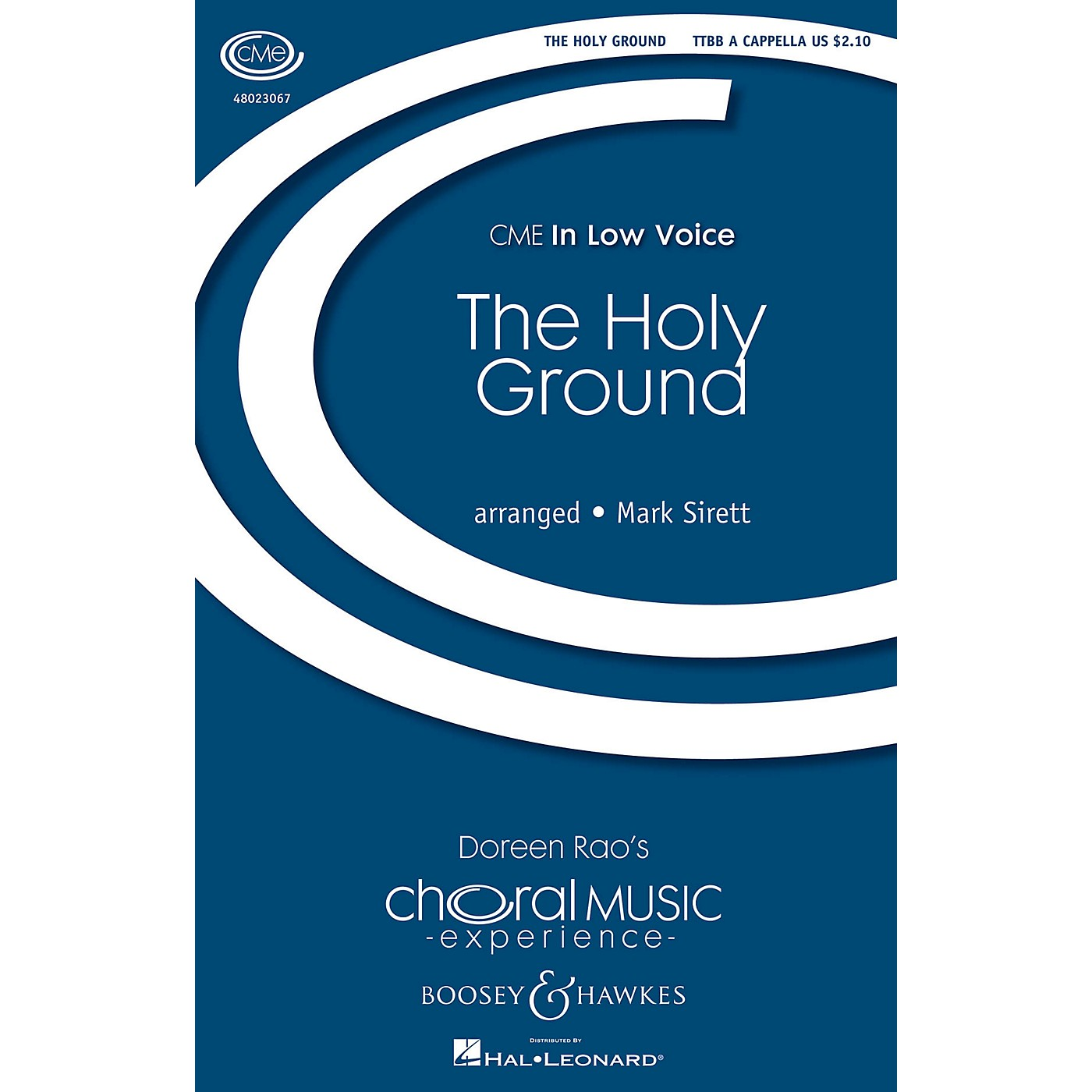 Boosey and Hawkes The Holy Ground (CME In Low Voice) TTBB arranged by Mark Sirett thumbnail