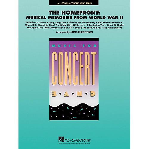 Hal Leonard The Homefront: Musical Memories from World War II Concert Band Level 4 Arranged by James Christensen thumbnail