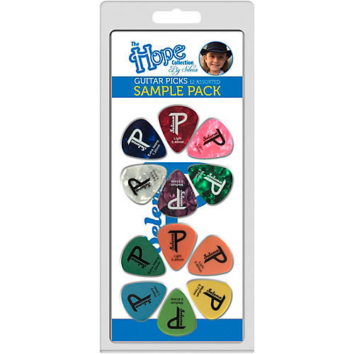 Perri's The Hope Collection Variety Guitar Pick Pack- 12pc thumbnail