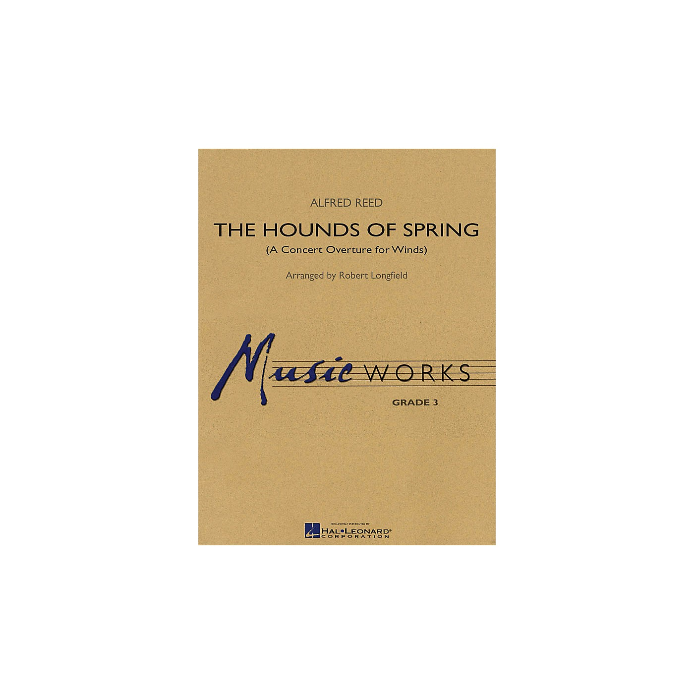 Hal Leonard The Hounds of Spring (A Concert Overture for Winds) Concert Band Level 3 Arranged by Robert Longfield thumbnail