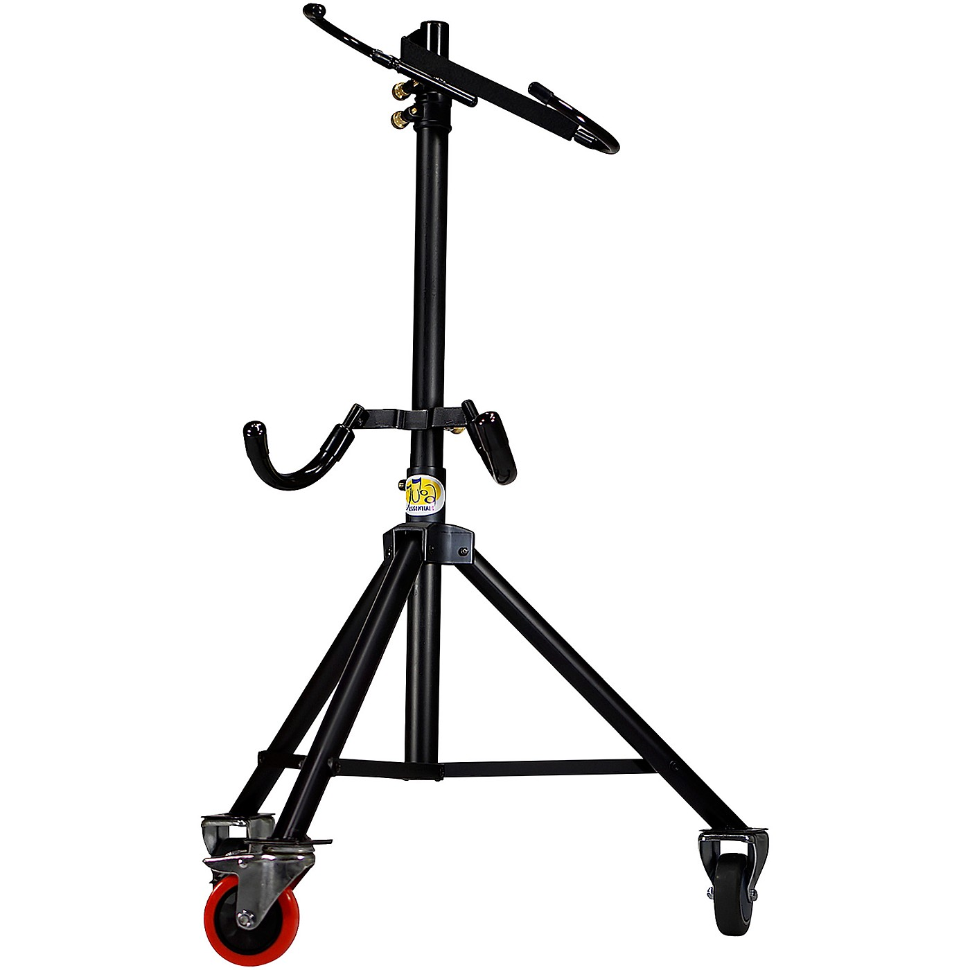 Tuba Essentials The Hug Adjustable Tuba Stand for 3/4 Size Left Side Mouthpiece Instruments thumbnail