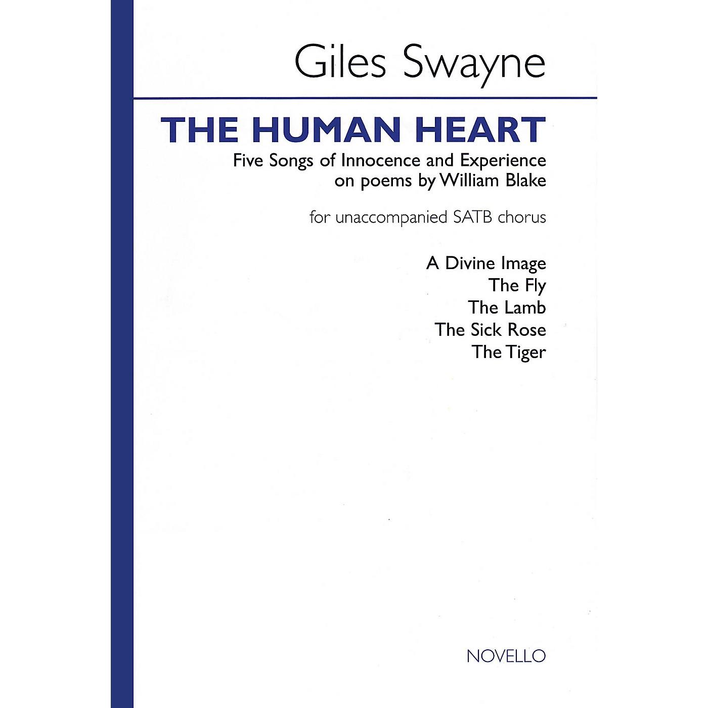 Novello The Human Heart SATB Composed by Giles Swayne thumbnail
