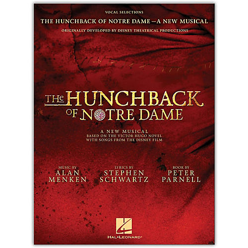 Hal Leonard The Hunchback of Notre Dame: The Stage Musical Vocal Selections thumbnail