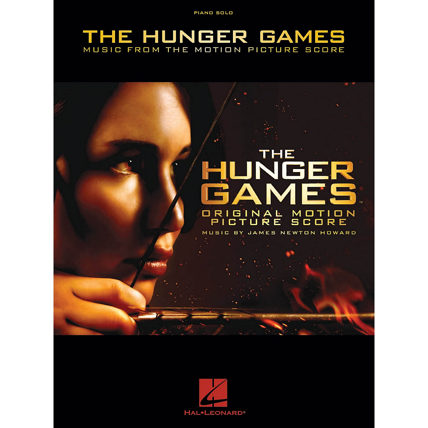 Hal Leonard The Hunger Games - Music From The Motion Picture Score Piano Solo Songbook thumbnail