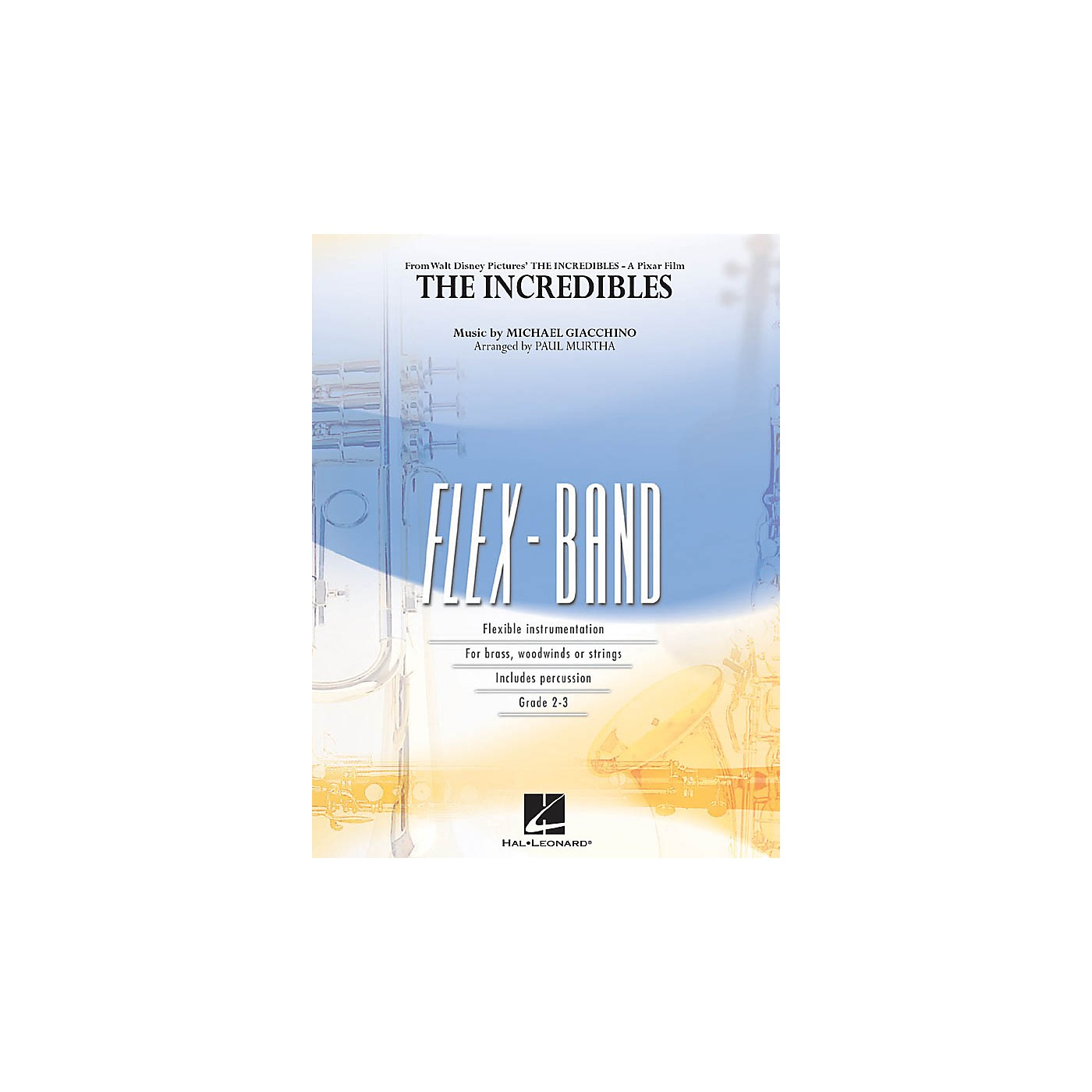 Hal Leonard The Incredibles Concert Band Level 2-3 Arranged by Paul Murtha thumbnail