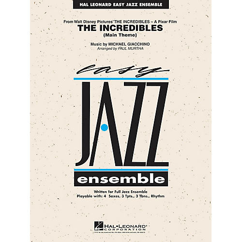 Hal Leonard The Incredibles Jazz Band Level 2 Arranged by Paul Murtha thumbnail